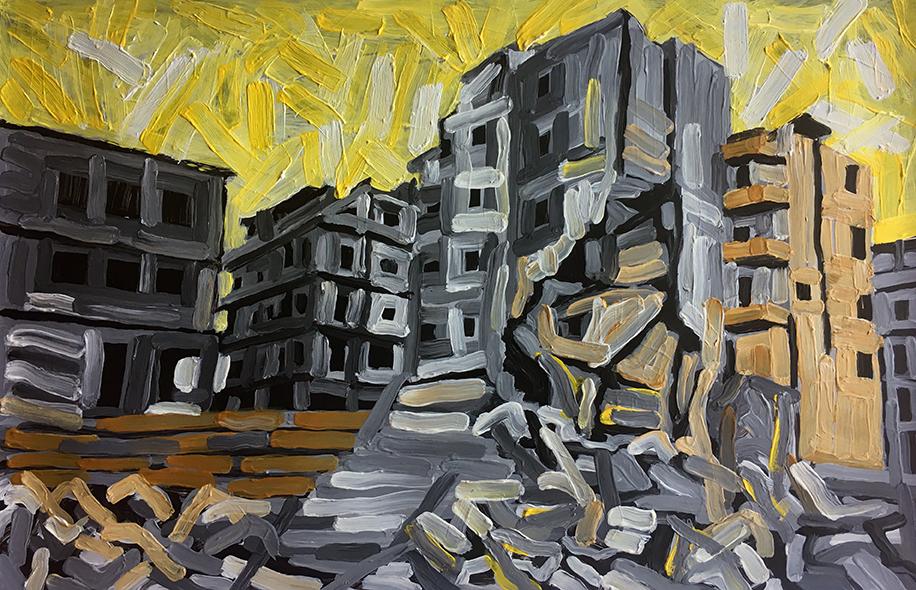 15-Aleppo Urban Landscape-2017_web