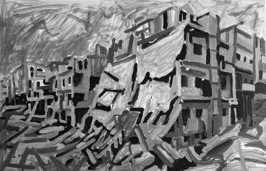 6-Aleppo Urban Landscape-2017_process_2_web