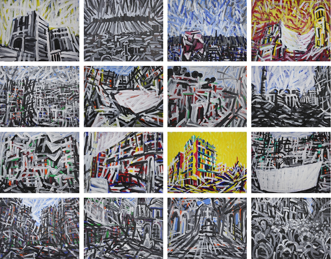 Aleppo-Urban-Landscapes-No1_16 paintings_47x37_web