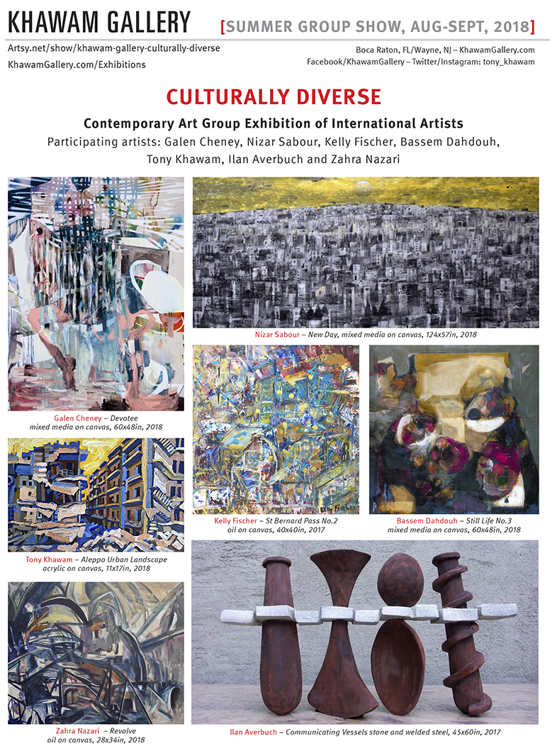 2018-KhawamGallery-Culturally Diverse_Invite